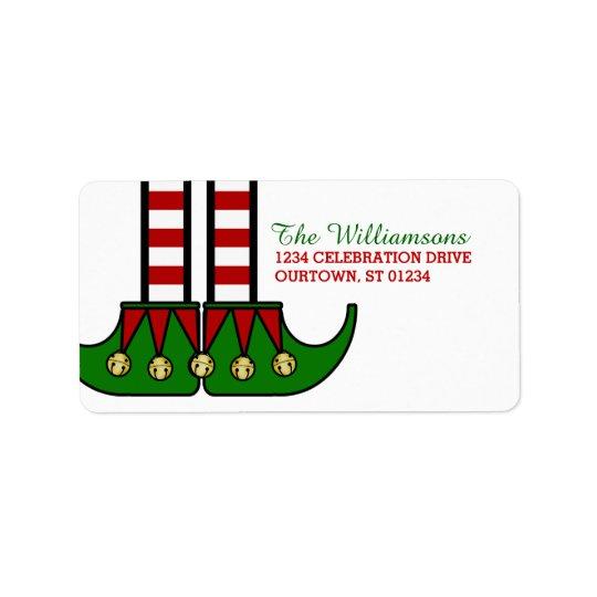 Christmas Elf Address Labels