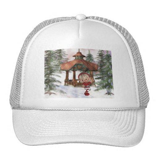 Christmas Elf at North Pole  Baseball Hat