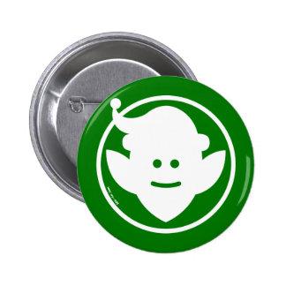 Christmas Elf Avatar 6 Cm Round Badge