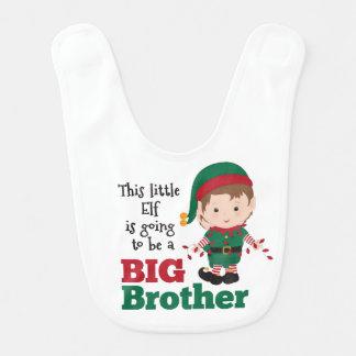 Christmas Elf Big Brother Announcement Bib