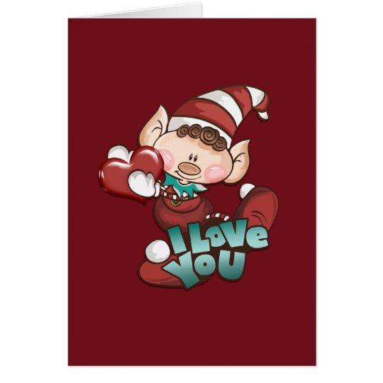 """Christmas Elf - """"Christmas Card 02"""""""