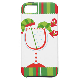 Christmas Elf Cocktail iPhone 5 Covers