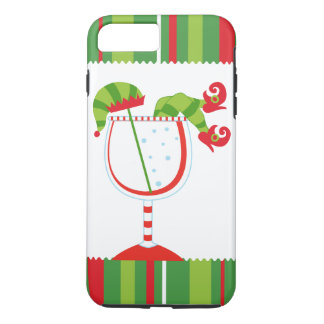 Christmas Elf Cocktail iPhone 8 Plus/7 Plus Case