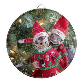 Christmas Elf Dartboard