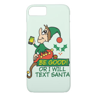 Christmas Elf Funny Design iPhone 7 Case