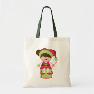 Christmas Elf Holiday Tote Bag