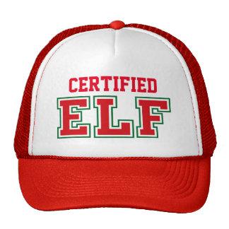 Christmas ELF Monogram Cap