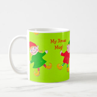 Christmas elf  mug