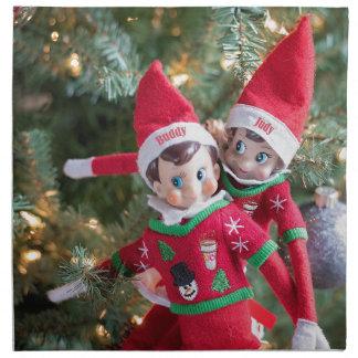 Christmas Elf Napkin