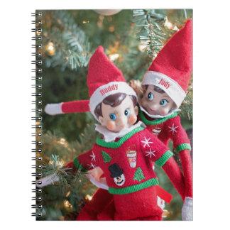 Christmas Elf Notebook