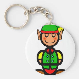 Christmas Elf (plain) Key Ring