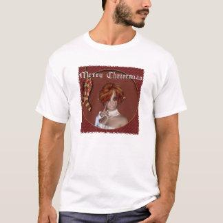 Christmas Elf - Redhead Design 1 - Fantasy TShirt