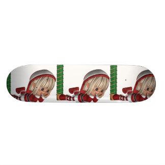 Christmas Elf  Skateboard