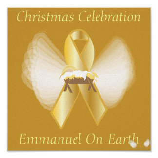 Christmas Emmanuel On Earth-Customize Posters