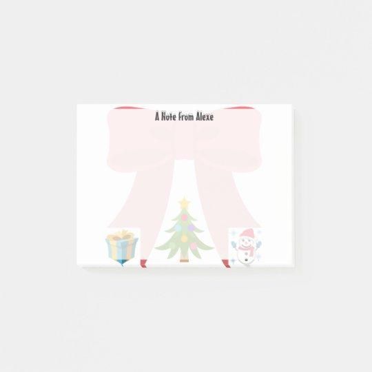 Christmas Emojis Post-it Notes