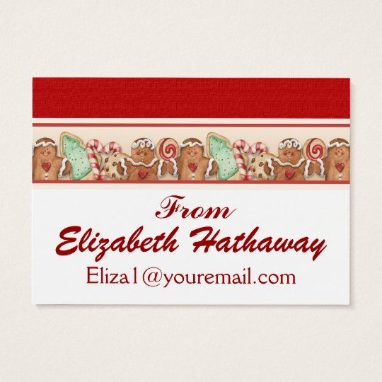 Christmas Enclosure Card / Tag - SRF