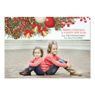 Christmas Endearment Photo Holiday Card 13 Cm X 18 Cm Invitation Card