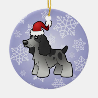 Christmas English Cocker Spaniel Christmas Ornament