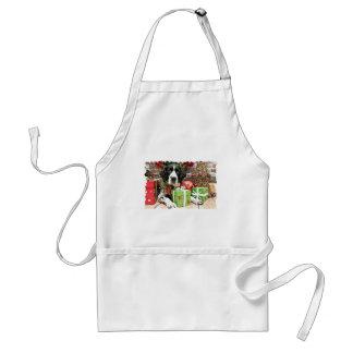 Christmas - English Springer Spaniel - Barney Apron