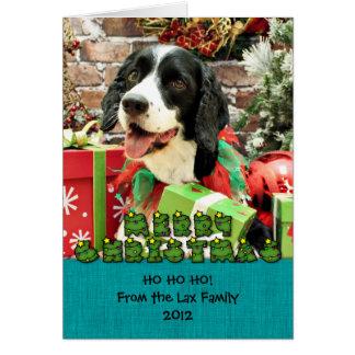 Christmas - English Springer Spaniel - Betsy Cards