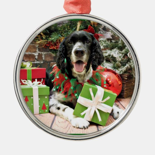 Christmas - English Springer Spaniel - Bosley Christmas Ornaments