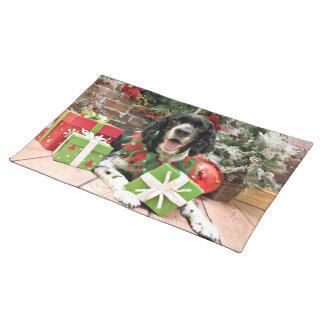 Christmas - English Springer Spaniel - Bosley Placemats