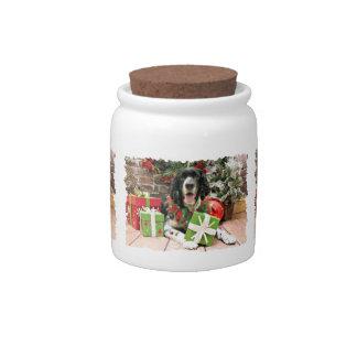 Christmas - English Springer Spaniel - Bosley Candy Dishes