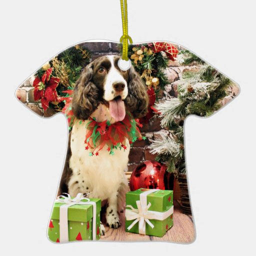 Christmas - English Springer Spaniel - Cloe Christmas Ornaments