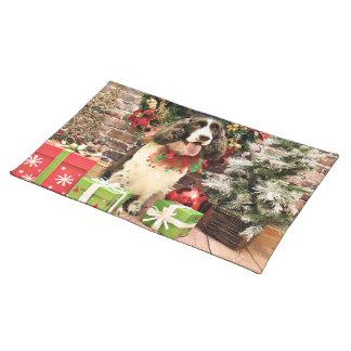 Christmas - English Springer Spaniel - Cloe Place Mats