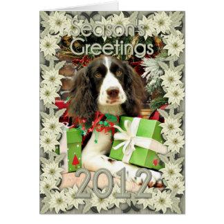Christmas - English Springer Spaniel - Kinzie Cards