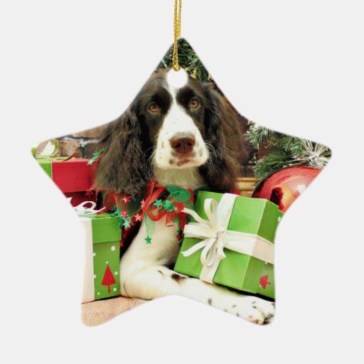 Christmas - English Springer Spaniel - Kinzie Ornaments