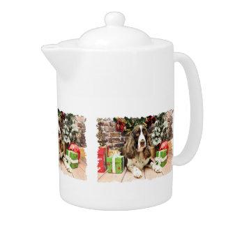 Christmas - English Springer Spaniel - Logan