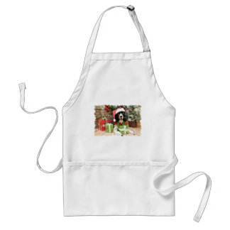 Christmas - English Springer Spaniel - Lucy Aprons