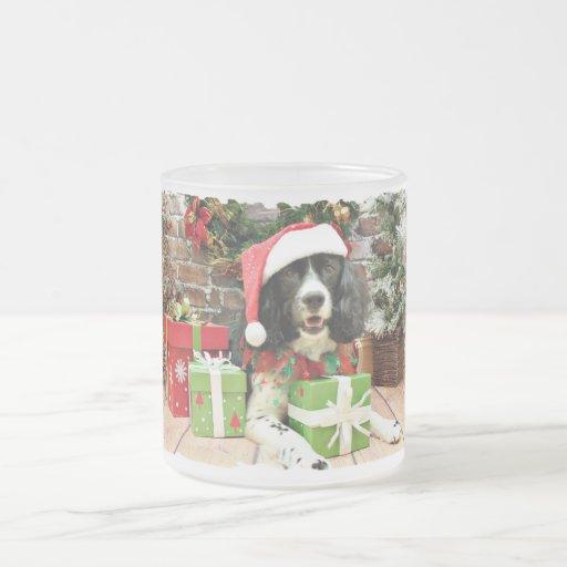 Christmas - English Springer Spaniel - Lucy Coffee Mug