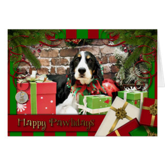 Christmas - English Springer Spaniel - Mac Cards
