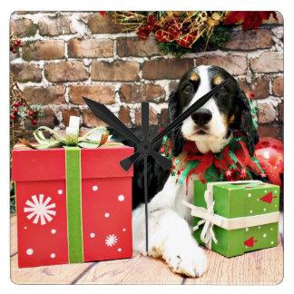Christmas - English Springer Spaniel - Mac Clocks
