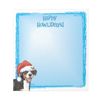 Christmas Entlebucher Notepad