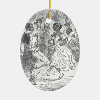 Christmas Eve Festivities on a Louisiana Estate Christmas Ornament