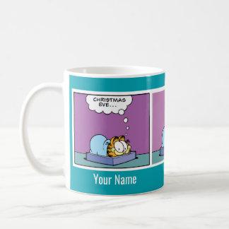 """""""Christmas Eve"""" Garfield Comic Strip Mug"""