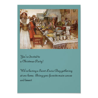 Christmas Eve Julaftonen 13 Cm X 18 Cm Invitation Card