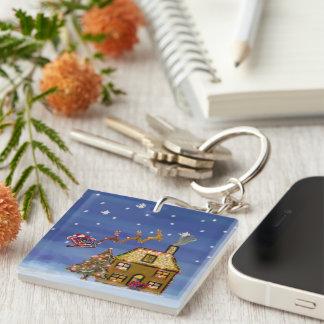 Christmas Eve Keychain