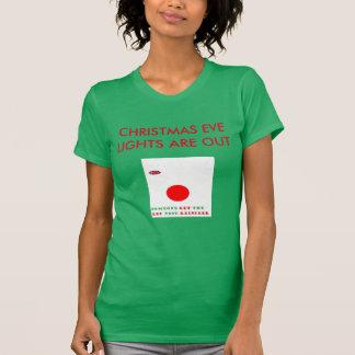 CHRISTMAS EVE LIGHTS GET RUDOLPH T-Shirt