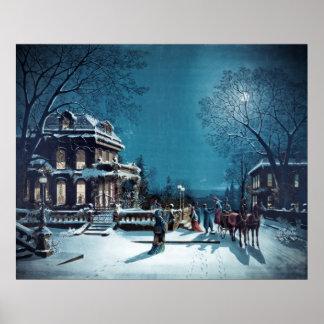 """Christmas Eve"" poster/print Poster"