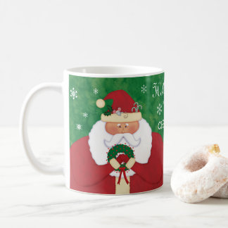 Christmas Eve Santa Coffee Mug