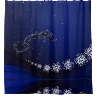 Christmas Eve Shower Curtain
