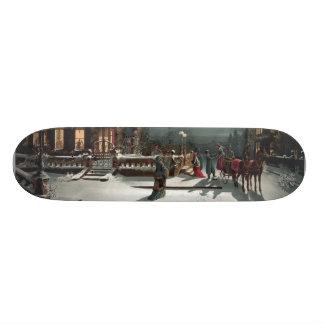 Christmas Eve skateboard