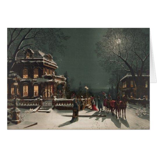 Christmas Eve Sleigh Ride, A Christmas Card