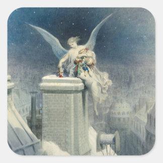 Christmas Eve Square Sticker