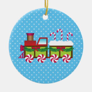 Christmas Express Candy Cane Train Ornament