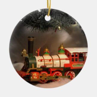 Christmas Express Train Christmas Ornament